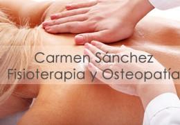 Carmen Sánchez – Fisoterapia y Osteopatía